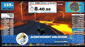 Zwift 100kph achievement - YouTube