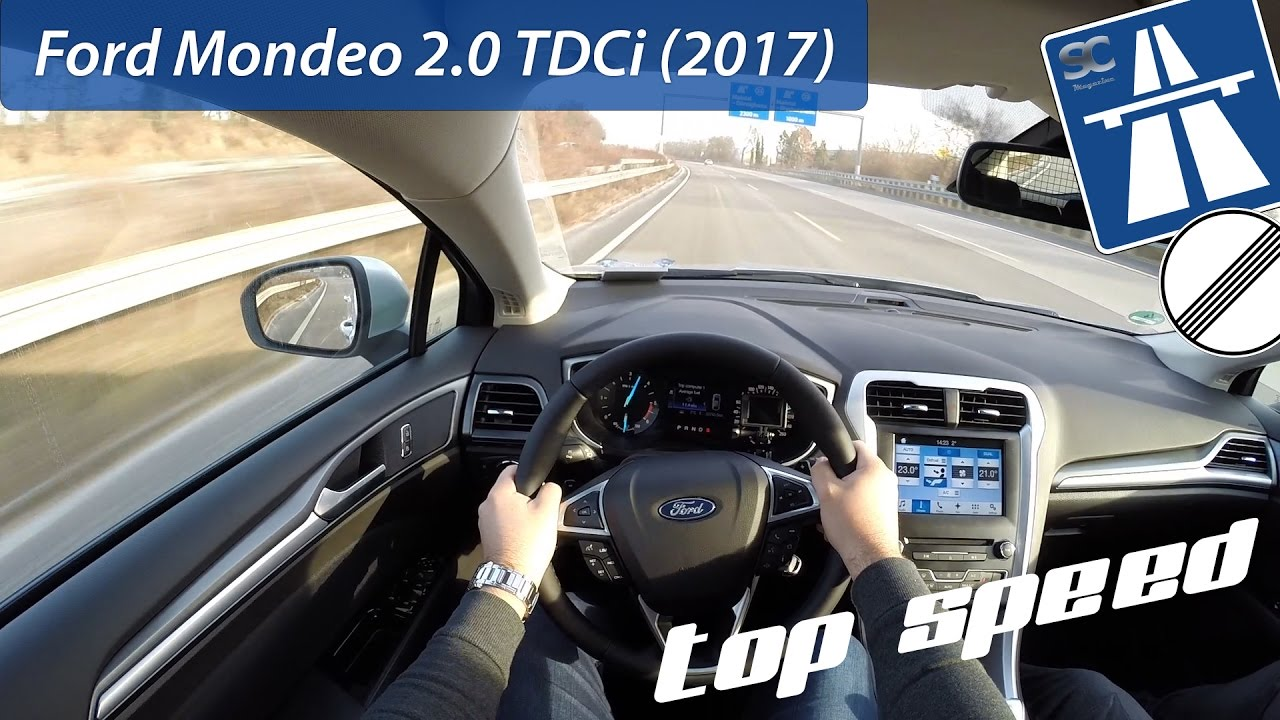 ford mondeo turnier 2 0 tdci 2017 on german autobahn pov top speed drive youtube. Black Bedroom Furniture Sets. Home Design Ideas