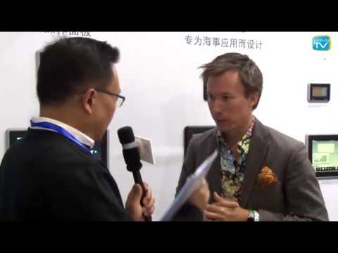 Interview Axel Gustafson, China Industrial Automation Show 2016