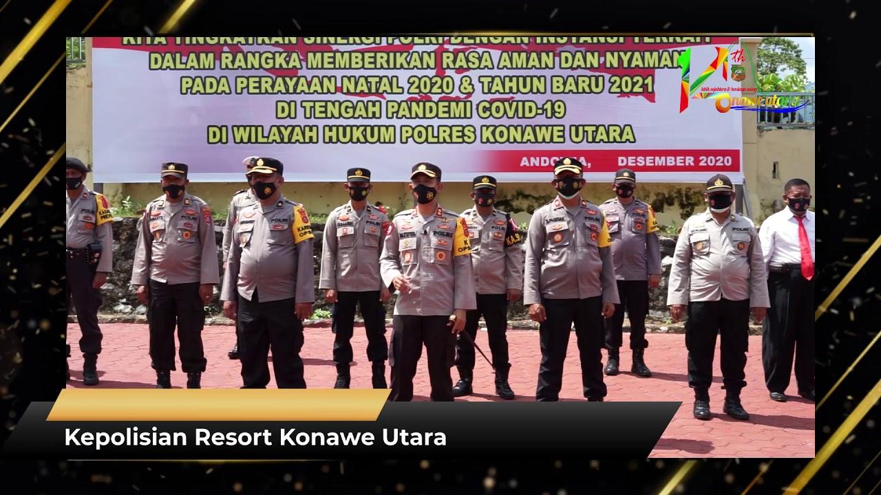 Ucapan HUT Ke-14 Kabupaten Konawe Utara Kepolisian Resort Konawe Utara