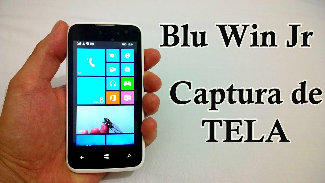 Blu Win Jr - Como Tirar ScreenShot [Captura de Tela] - YouTube