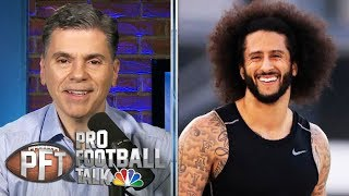 PFT Overtime: Seahawks' interest in Kaepernick, change in Carolina | Pro Football Talk | NBC Sports