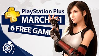 PlayStation Plus (PS4 and PS5) March 2021 (PS+)