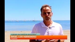 7TV - Podemos insiste en la necesidad de la creación del Parque Regional del Mar Menor