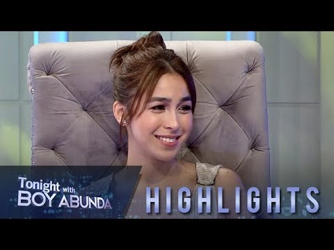 TWBA: Julia Barretto reacts to observations of people about her