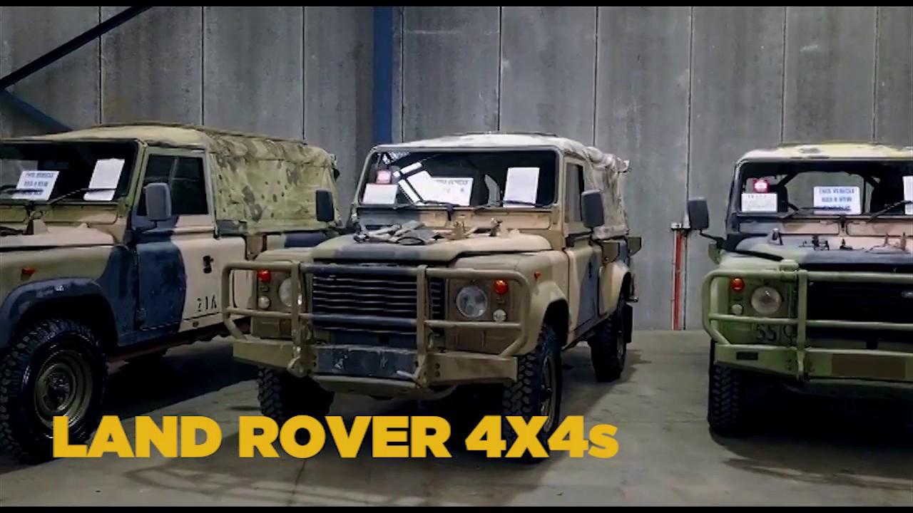 Australian Frontline Machinery - Ex-Military Vehicle Auctions