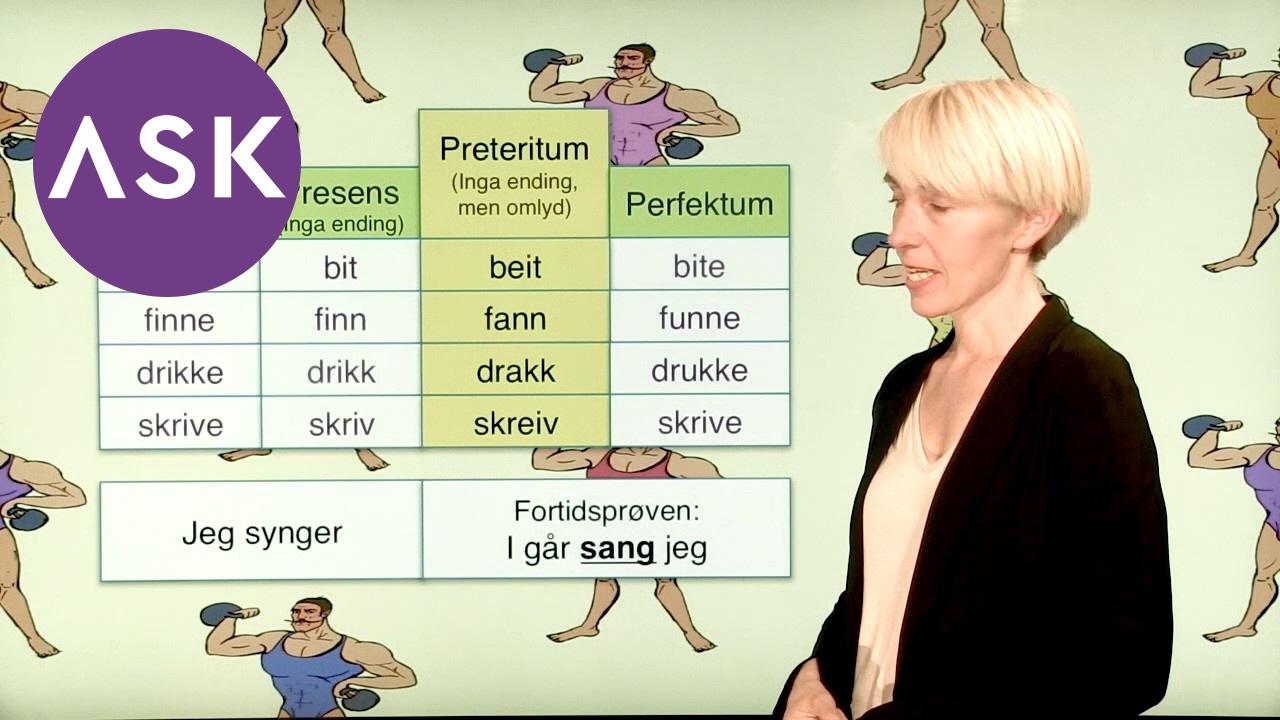 Norsk Sterke verb