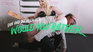 Licked Or Spanked By 100 People | Would You Rather? | Cut