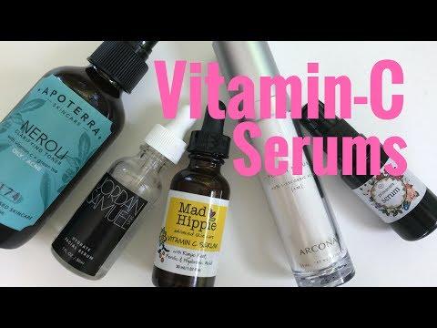 VITAMIN-C SERUMS/Green Beauty