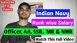 Download Indian Navy Sailor Rank Structure Salary Ssr Mr Nmr
