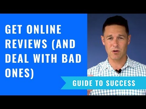 How To Get Online Reviews (And Deal With Bad Ones)