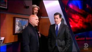 'Lean on Me' - Stephen Colbert, Brian Eno and Michael Stipe