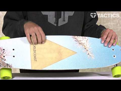 "Globe Gold Coast Glyph 35.25"" Complete Longboard Review - Tactics.com"