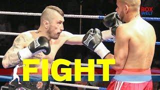 Gogi Knezevic vs Zsolt Friesz - 6 rounds super welterweight - 17.02.2019 - Hamburg
