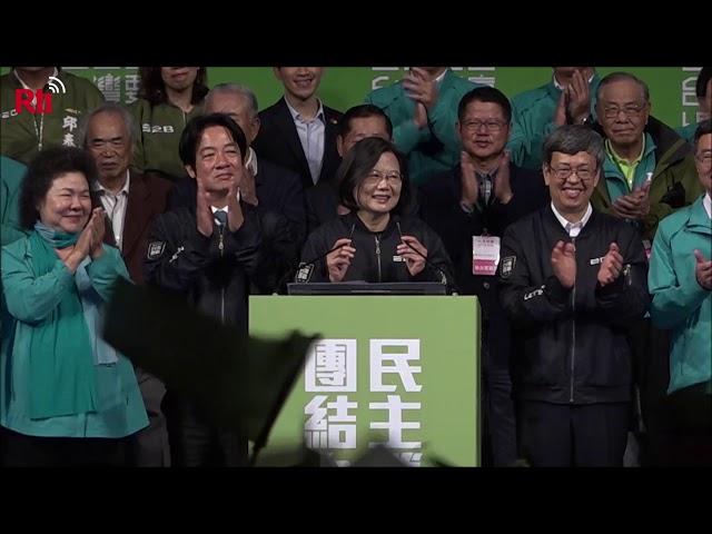 Wahlsieg: Präsidentin dankt Wählern