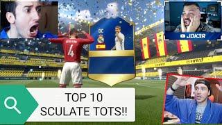 TOP 10 SCULATE TOTS FIFA 17 ITA!! (Joker, dexter , sodin , Mikeshowsha)