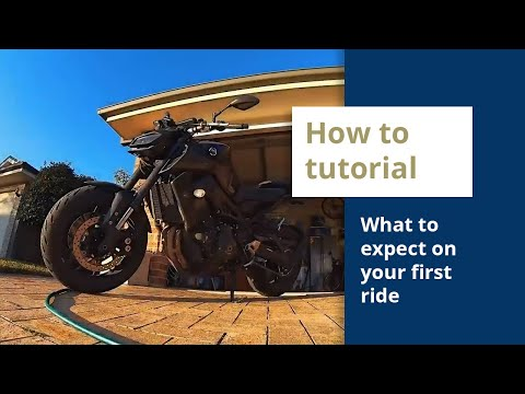 Preparation for your first day out on a motorcycle - a few tips