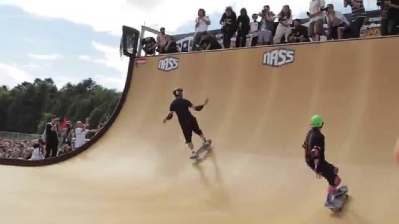 Nass 2015 Tony Hawk Birdhouse Team Vert Demo Youtube Pro Model