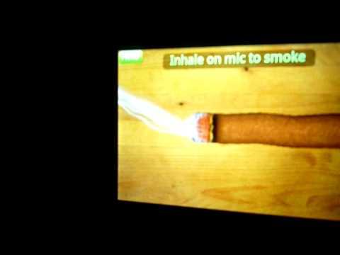 Симулятор сигарет на ANDROID (без звука)
