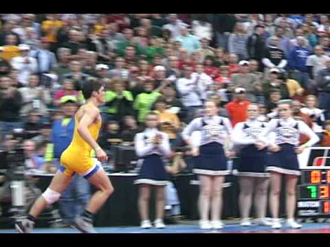 Bart Reiter wins fourth state wrestling title
