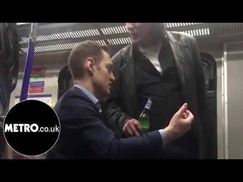 British man goes on racist rant at polish man for drinking on train   Metro.co.uk