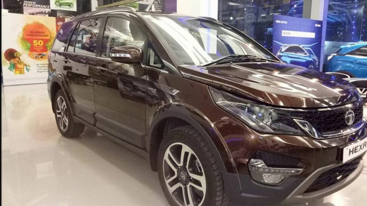 C Max 7 Seater >> 2017 Tata Hexa Urban Bronze Colour - Perfect Seven Seater SUV !! - YouTube