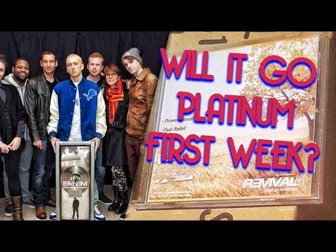 WILL EMINEM'S NEW ALBUM GO PLATINUM FIRST WEEK?