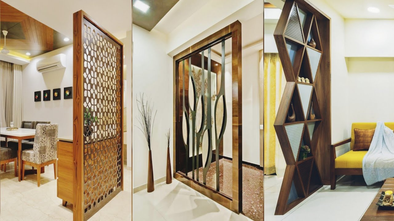Best Wall Partition Design Ideas, Living Room Partition Wall