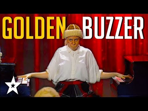 GOLDEN GIRL Plays 2 Pianos At Once on Israel's Got Talent  Got Talent Global