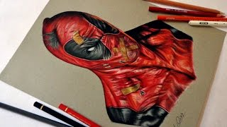 Speed Drawing: Deadpool