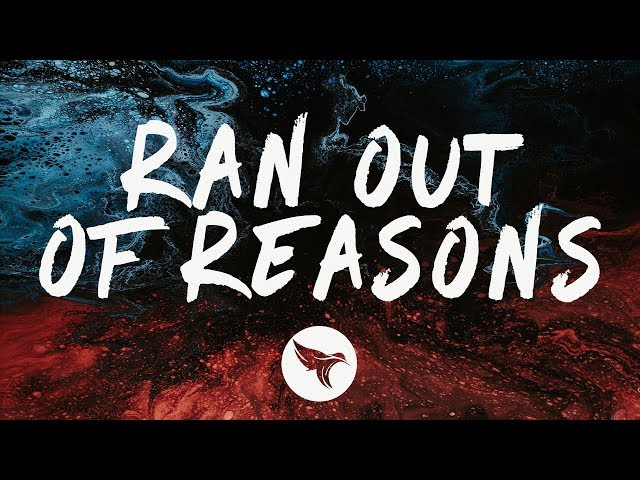 Vicetone - Ran Out of Reasons (Lyrics) feat. Jude & Night Panda