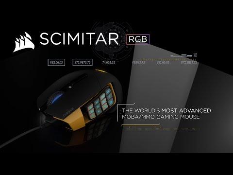 9e9ff2f5ed9 Corsair Scimitar Factory Refurbished RGB Optical MMO Gaming Mouse 12,000DPI  : image 4 zoom. Scan ...