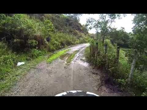 Solo motorcycle trail, Cebu mountains 2015 June 21