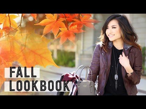 Fall Lookbook Collab w/ SavannahandStuff   Fall Fashion Outfit Ideas   Miss Louie