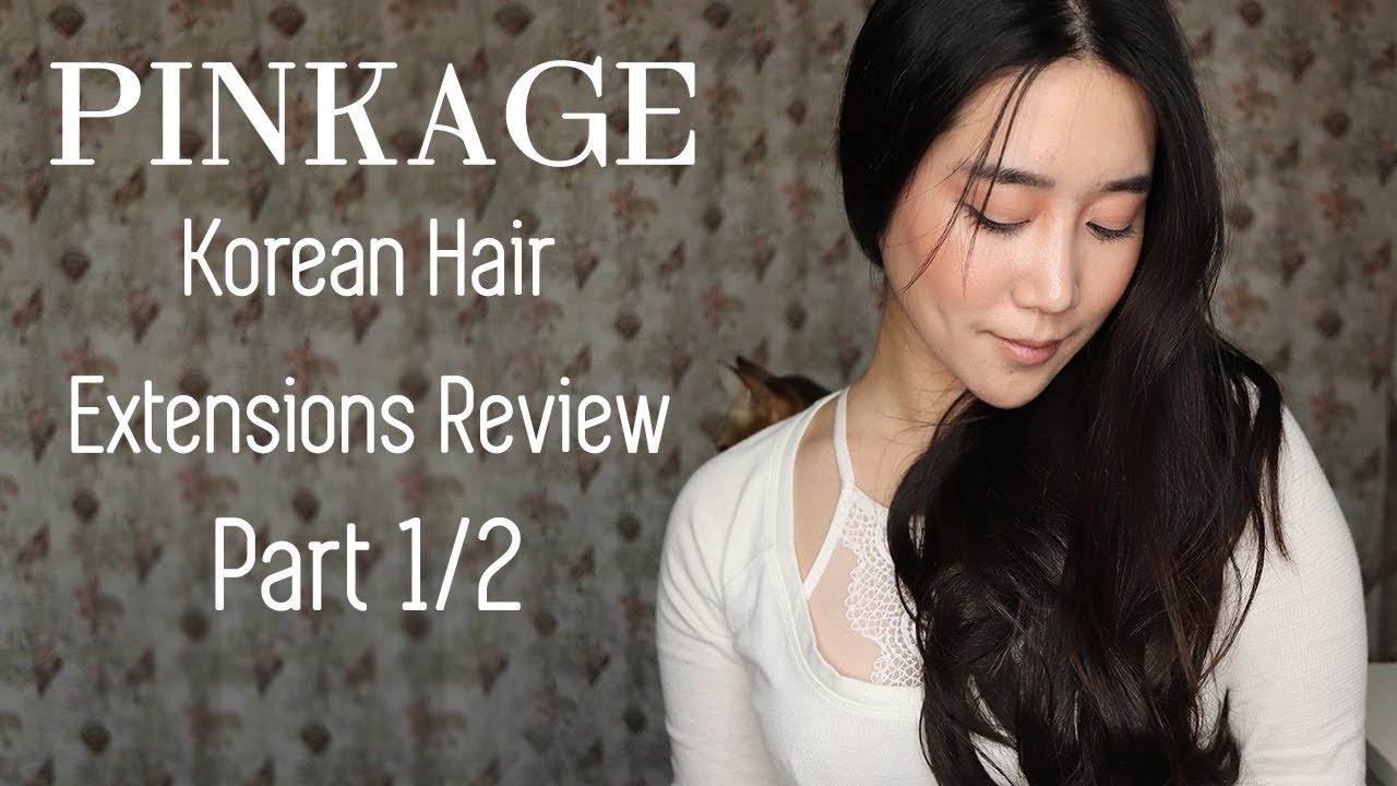 Pinkage Korean Hair Extensions Review Part 12 Love Affair Loose