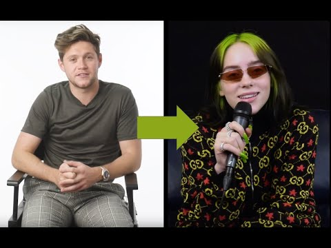 Niall Horan continues to quiz Billie Eilish about The Office... and asks for a collab!