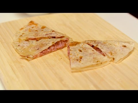 Ham and Cheese Quesadilla Recipe