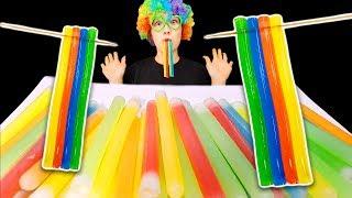 TWIZZLERS 신기한 무지개 닉클립 트위즐러 컬러누들 Nik-L-Nip Color Noodle JELLY NOODLES 먹방
