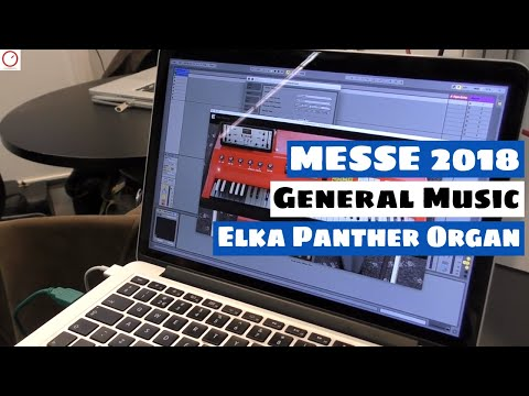 MESSE 2018: General Music (GEM) Elka Panther Organ Plugin | SYNTH ANATOMY