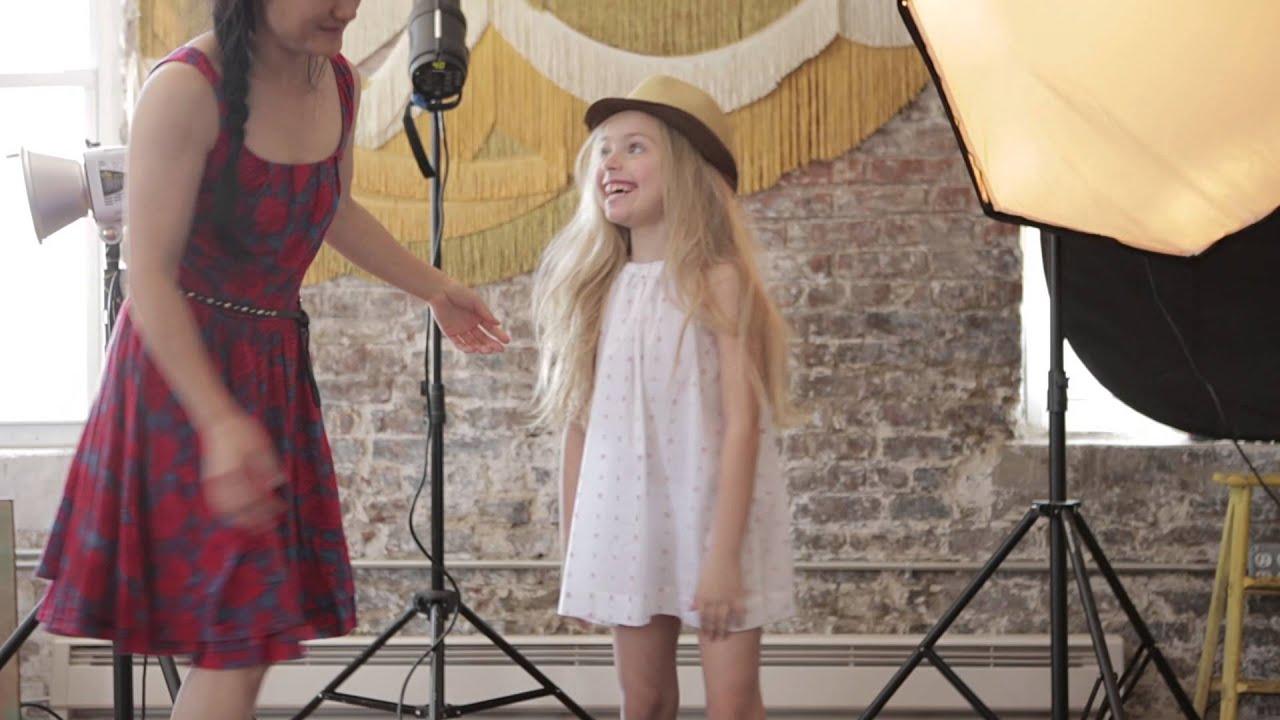 Olivia Fanders Modeling Velveteen Clothing