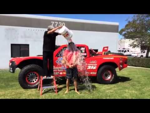 Tavo Vildosola ALS Ice Bucket Challenge