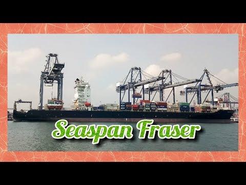Seaspan Fraser Container Ship #ShipVlog