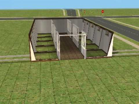 how to build a horse barn on sims 3 pets 2