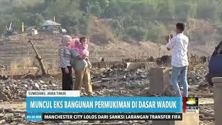 Waduk di Sumedang Surut Akibat Kemarau   REDAKSI MALAM (14/08/19)