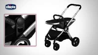 Chicco Urban Stroller - прогулочная коляска(Новая прогулочная коляска Chicco - трансформируется в двойку, люлька+прогулка., 2014-02-06T09:28:17.000Z)