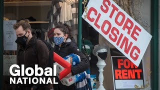 Global National: Nov. 22, 2020 | COVID-19 pandemic forces many small businesses to close for good