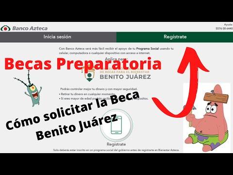 Cómo Registrarse en Banco Azteca - Cómo Solicitar la Beca Benito Juárez 2021