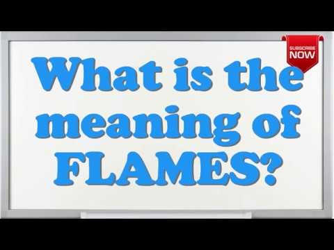 What is the full form of FLAMES? - YouTube