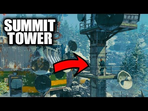 How To Get On The Tower In Summit Black Ops 4  - Best Summit Hiding Spots In Black Ops 4