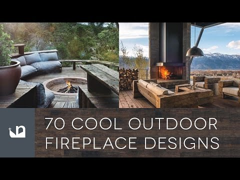 70 Cool Outdoor Fireplace Designs - Home Fire Pits
